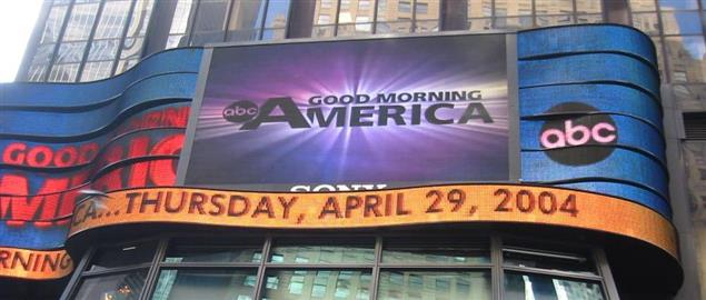 Good Morning America studio in Times Square