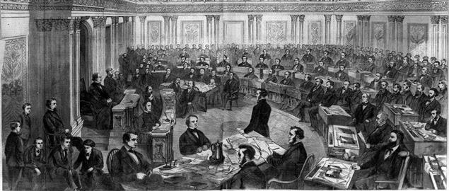 Andrew Johnson Trial