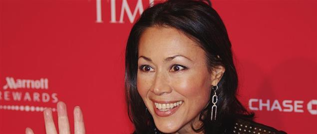 Ann Curry at the 2012 Time 100 gala.