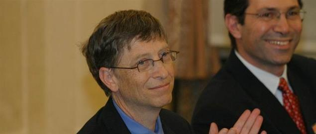 Bill Gates in Poland, 2006.