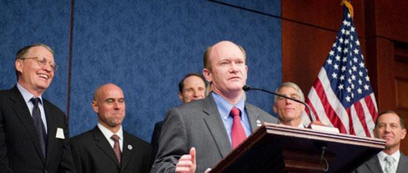 United States Senator Chris Coons of Delaware