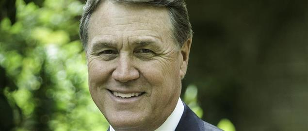 English: David Perdue is a businessman from Georgia.