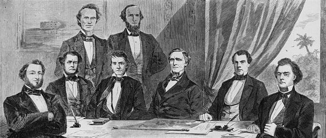 Jefferson Davis' Confederate cabinet