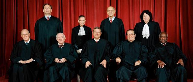 Official photograph of the United States Supreme Court