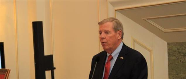 Johnny Isakson hosts a ceremony was held in the Swedish Parliament