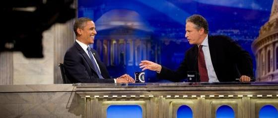 President Obama on The Daily Show