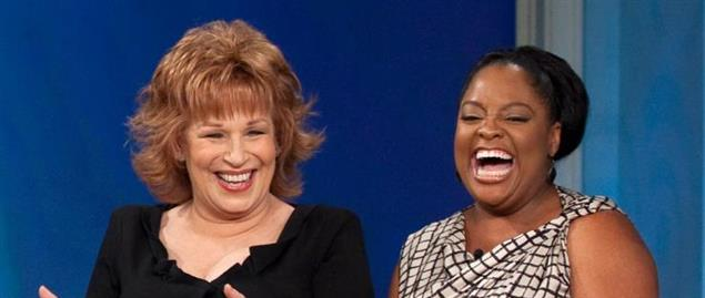 From left: Joy Behar, Sherri Shepherd, and Elisabeth Hasselbeck