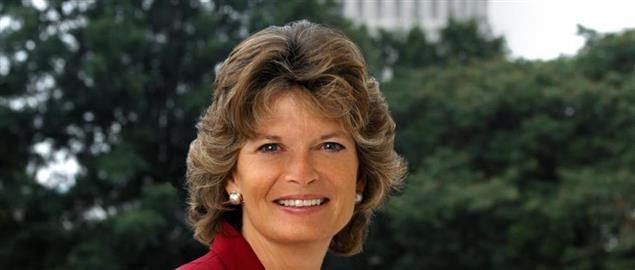 Lisa Murkowski, member of the United States Senate from Alaska.
