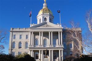 New Hampshire State House in Concord.