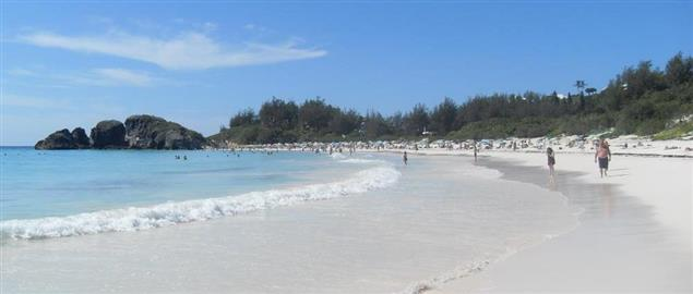 Beachfront in Bermuda, one of the most popular offshore tax haven locales.