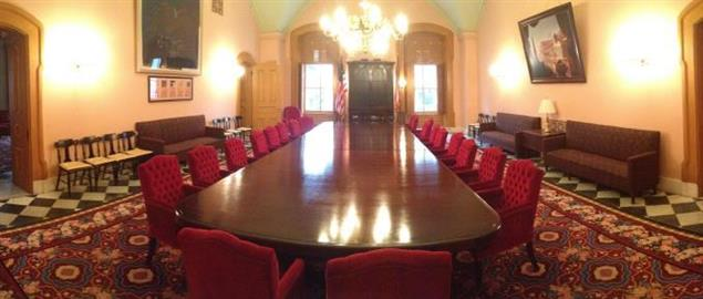 The Cabinet Room of the Ohio Statehouse