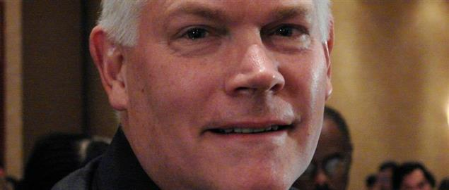 U.S. congressional representative Pete Sessions from Texas, at a banquet in Richardson, TX