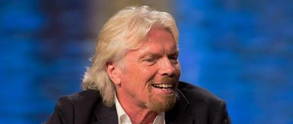 This is Richard Branson at a conference in San Diego, California on July 8, 2013.