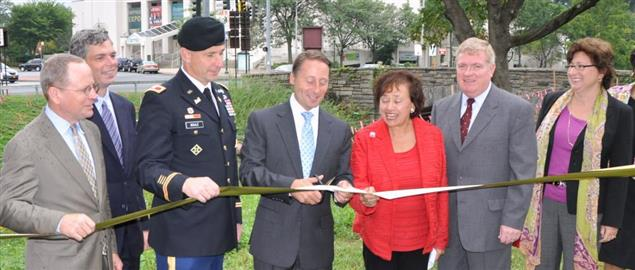 U.S. Rep. Nita Lowey, Executive Rob Astorino, and others at a 2012 Ribbon Cutting ceremony