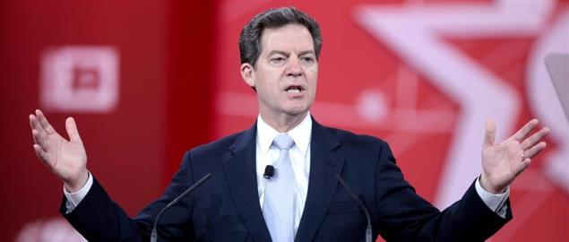 Sam Brownback speaking at the 2015 Conservative Political Action Conference