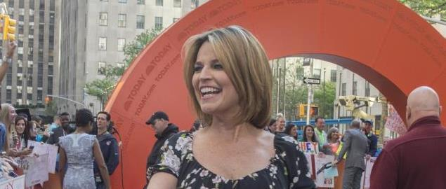"NEW YORK (May 20, 2014) -- Savannah Guthrie from NBC's ""The Today Show"""