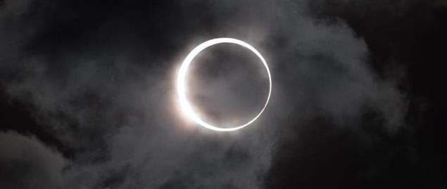 Annular solar eclipse, May. 21, 2012, Hyogo, Japan