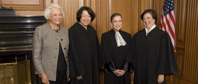 The four women who have served on the Supreme Court