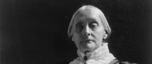 American civil rights leader Susan B. Anthony (1820-1906) by Frances Benjamin Johnston.(18