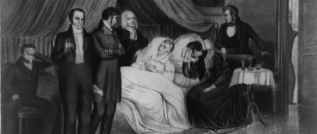 Death of Harrison, April 4, 1841